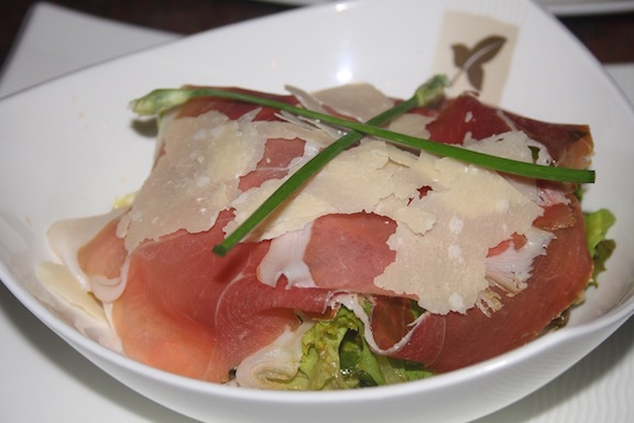 Mixed Salad with Parma Ham